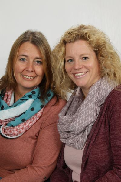 Ein starkes Team - Frau Kober und Frau Taghikhahan