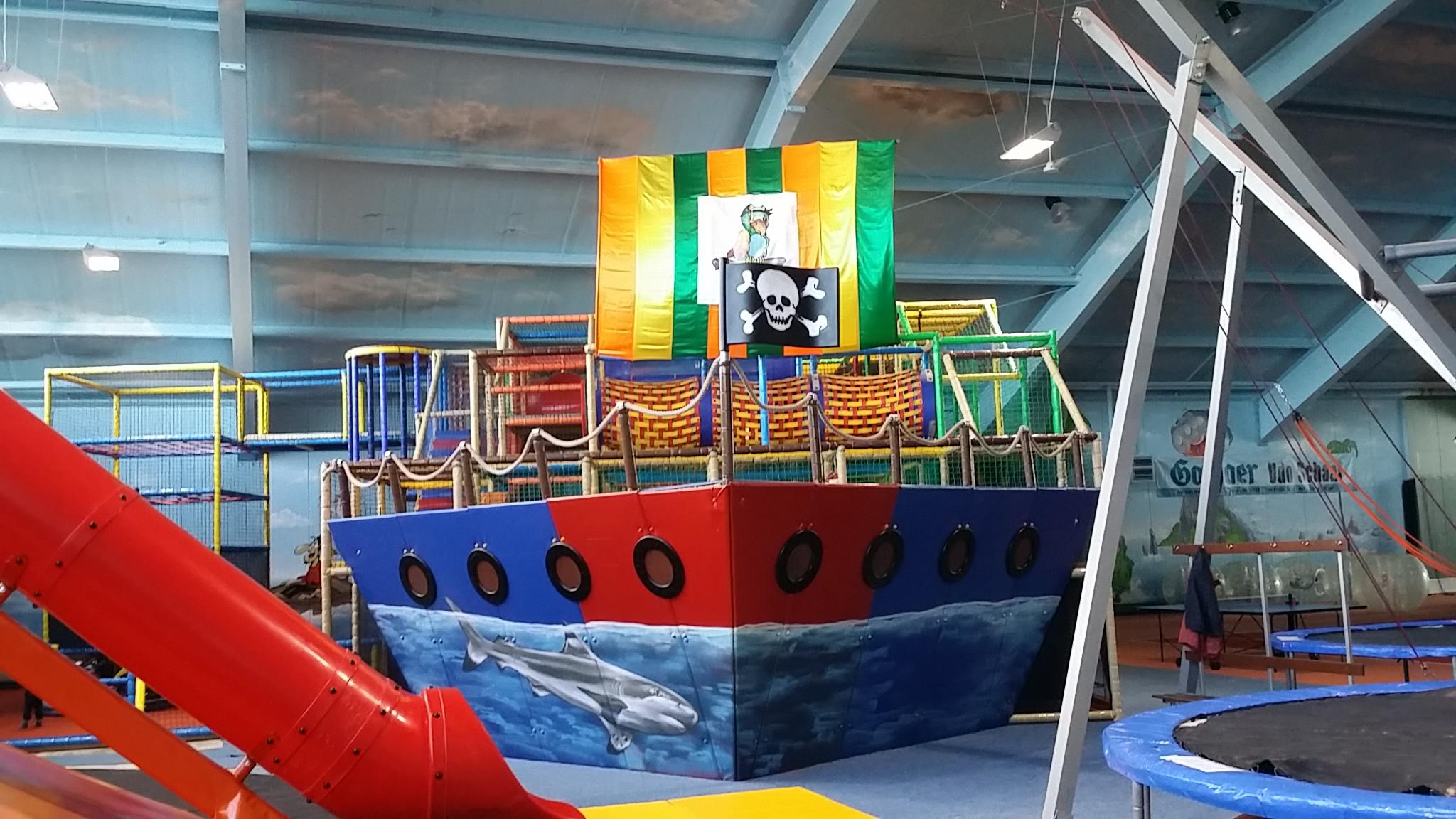 Piraten-Kletterschiff