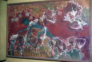 Cueilleur de safran à Knossos