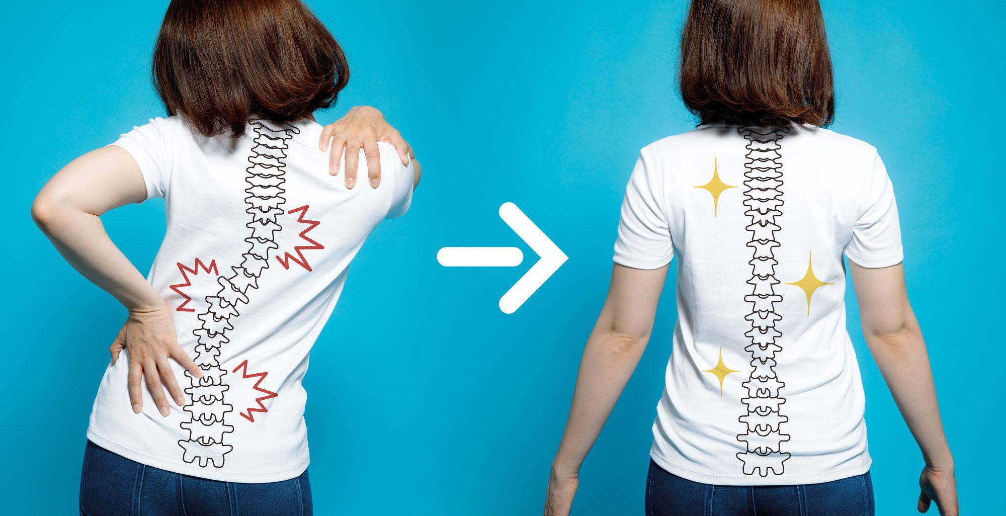 Wie fit ist Ihr Rücken? Mit kurzem Test und wie Sie für Ihren Rücken aktiv werden können.