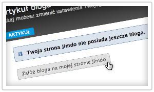 Załóż bloga i pisz pamiętnik online z Jimdo