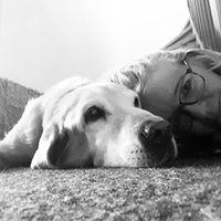wir vertrauen uns gegenseitig. Unser wunderbarer Labrador.