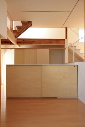 キッチン・ダイニング  スキップフロアによる広がりのある空間