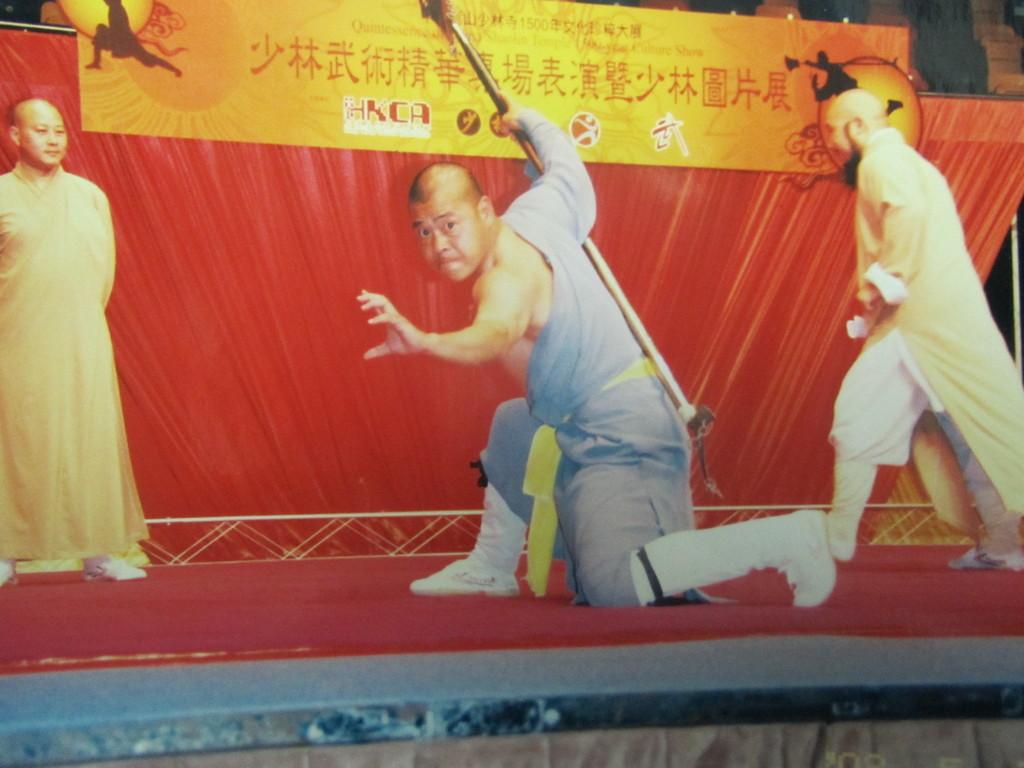 Shi De Meng in Aktion...Kraft, Ausdruck & Geist in Perfektion!
