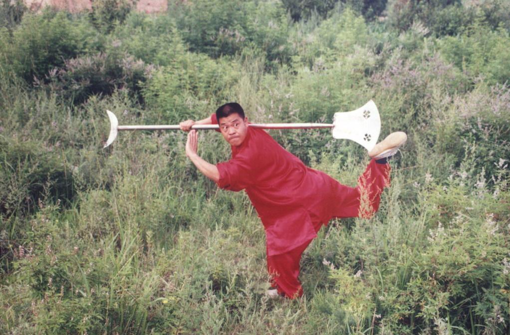 Shi De Meng mit dem Mondsichelspaten (Yue Yan Chan)