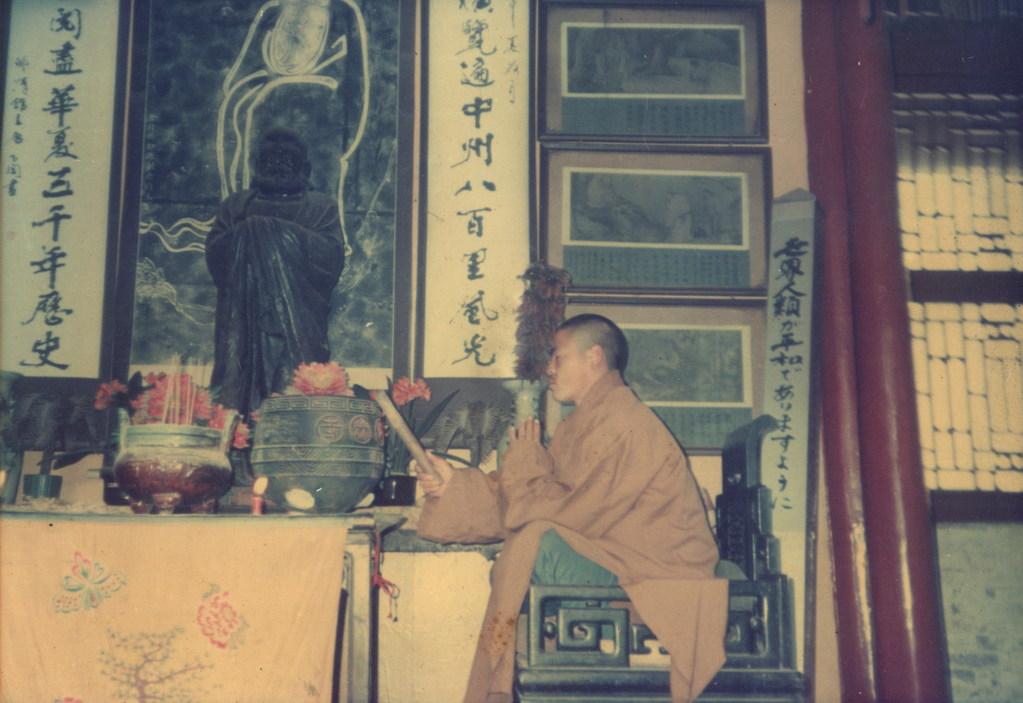 Im Shaolin Tempel am Beten