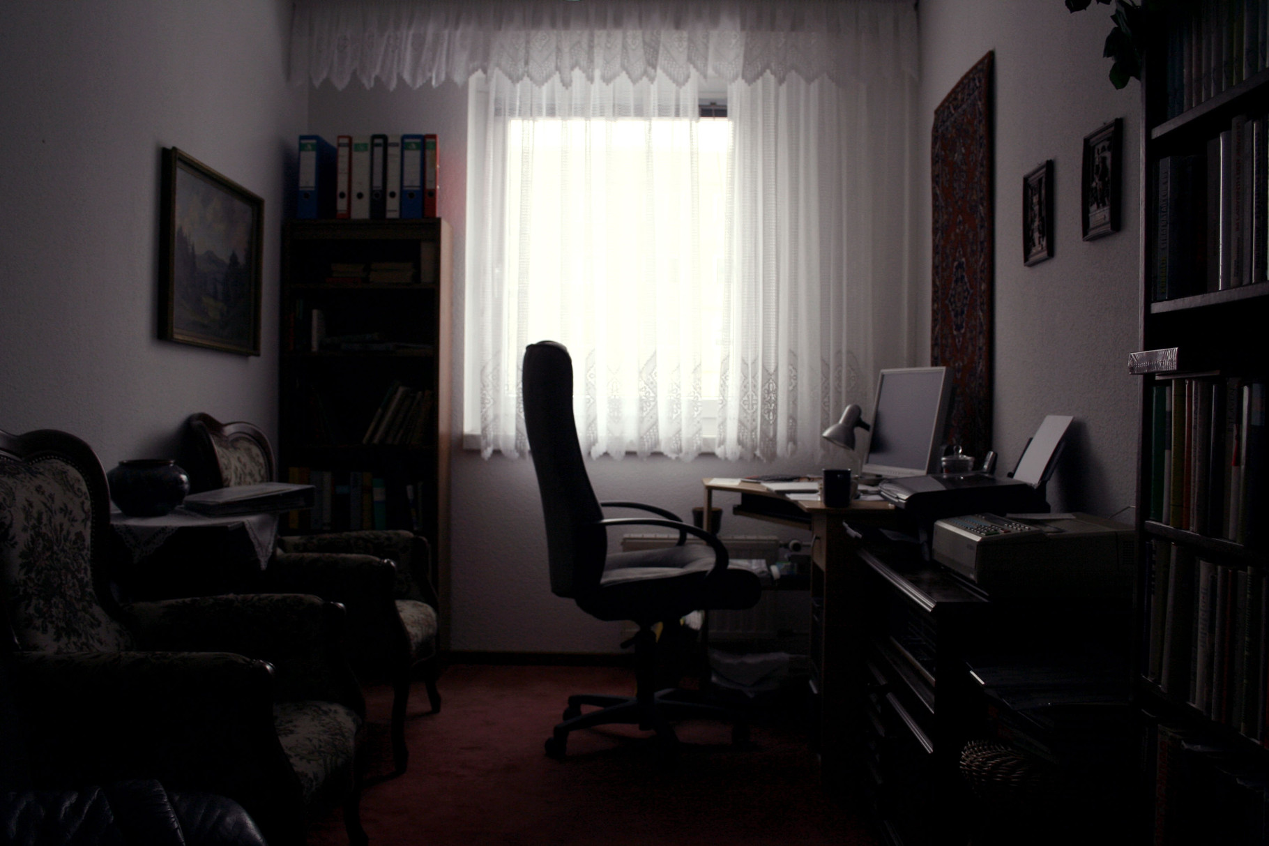 Bestand 5, Bürozimmer