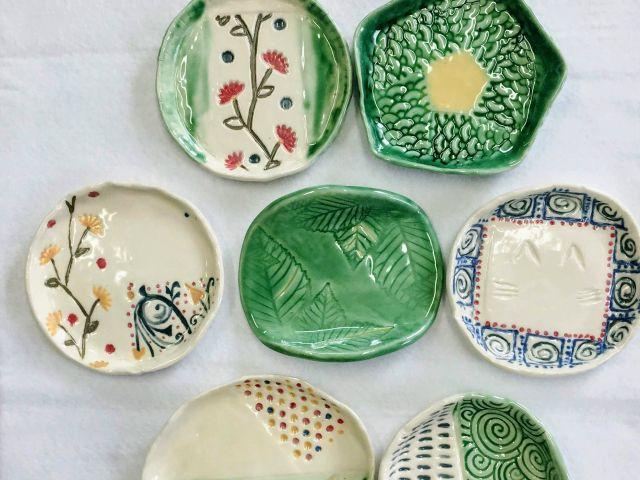 【オンライン体験教室】「おうち陶芸」 My食器で「いただきます!」