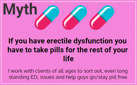 Myths about Erectile Dysfunction