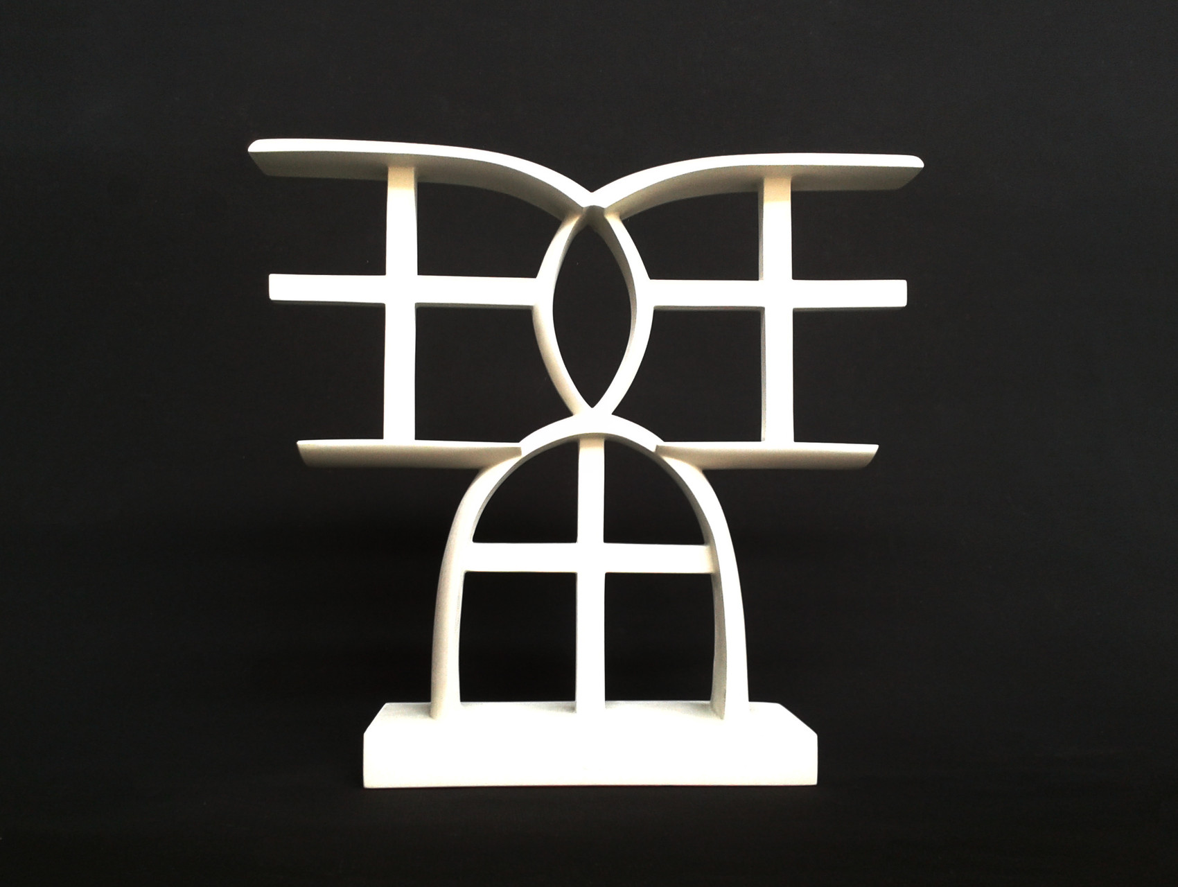 A+G 10. 2012. 40 X 37 X 9 cm. Aluminio - Pintura electrostática