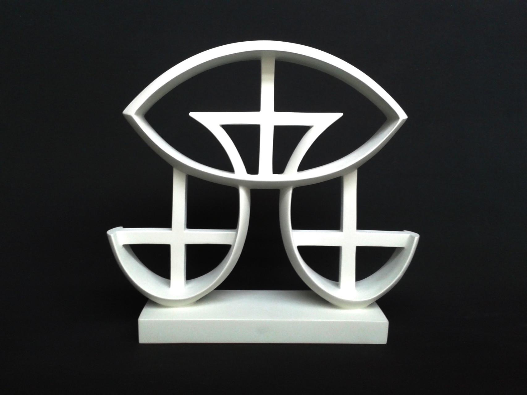 A+G 9. 2012. 36 X 32,5 X 9 cm. Aluminio - Pintura electrostática.