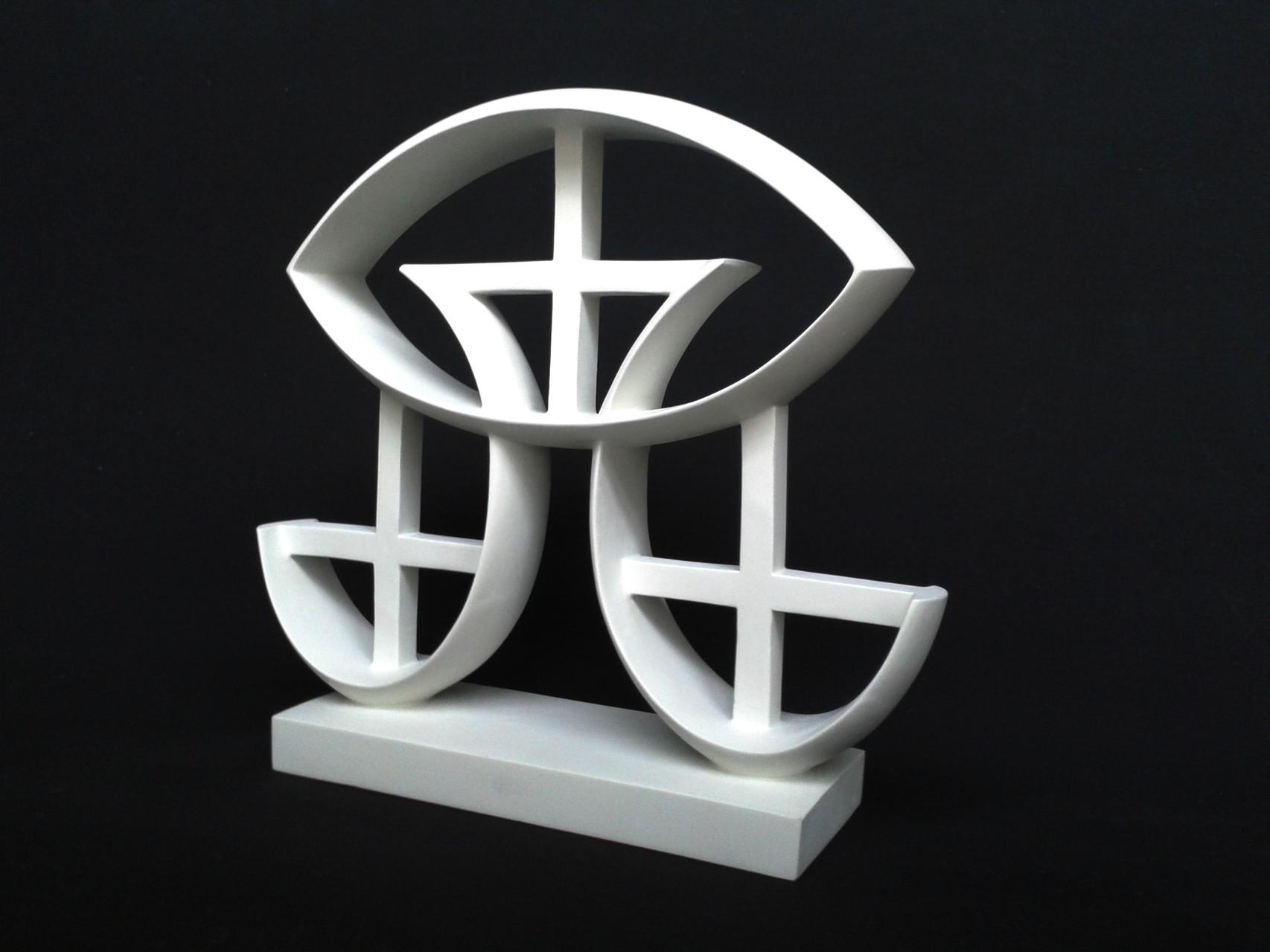 A+G 9. 2012. 36 X 32,5 X 9 cm. Aluminio - Pintura electrostática