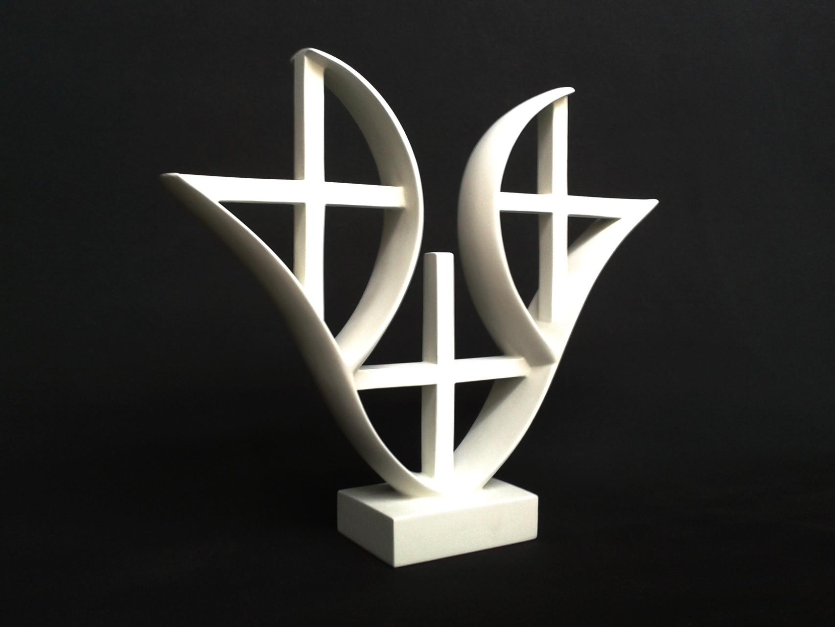 A+G 5. 2012. 38 X 33,5 X 9 cm. Aluminio - Pintura electrostática