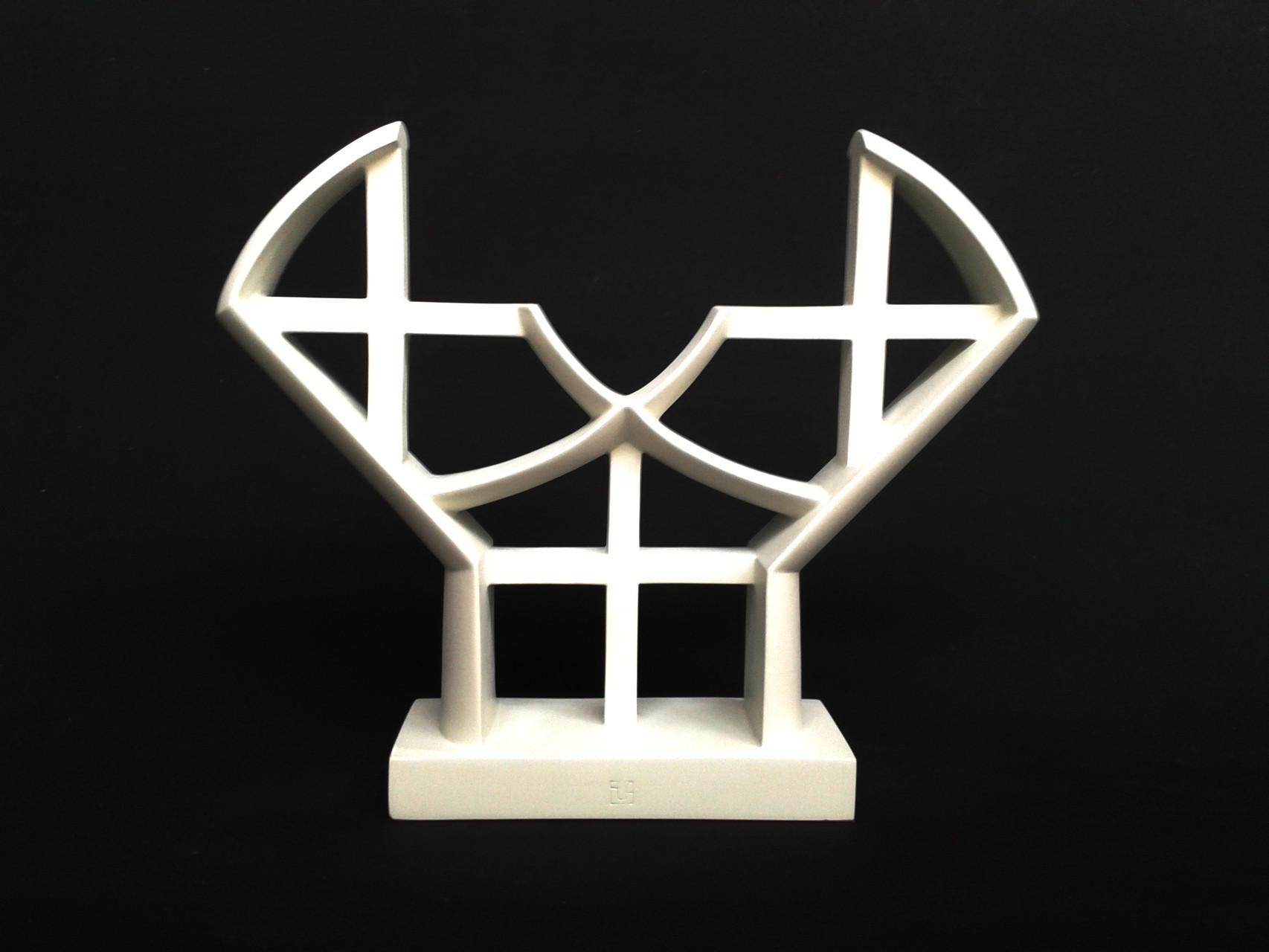 A+G 11. 2012. 37 X 31,5 X 8,5 cm. Aluminio - Pintura electrostática