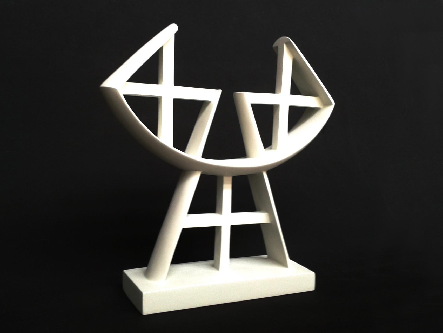 A+G 1. 2012. 38 X 37 X 9 cm. Aluminio - Pintura electrostática