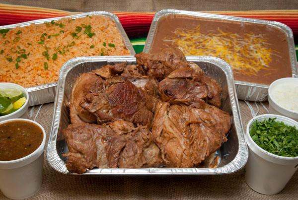 Carnitas Fiesta Platter