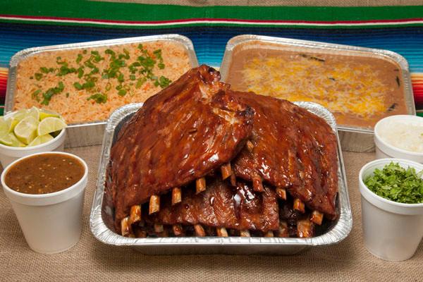 Pork Teriyaki Ribs Fiesta Platter