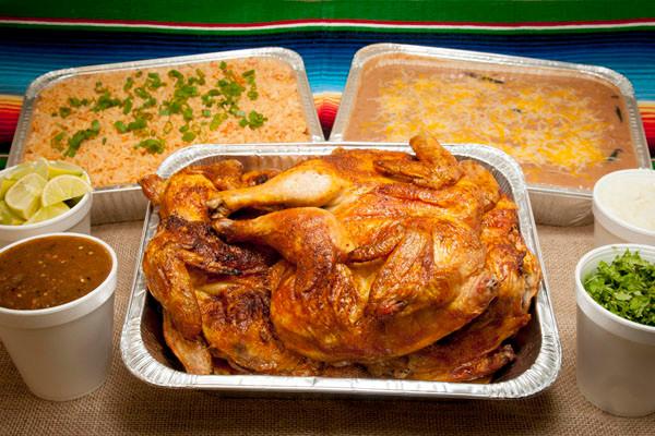 Rotisserie Chicken Fiesta Platter