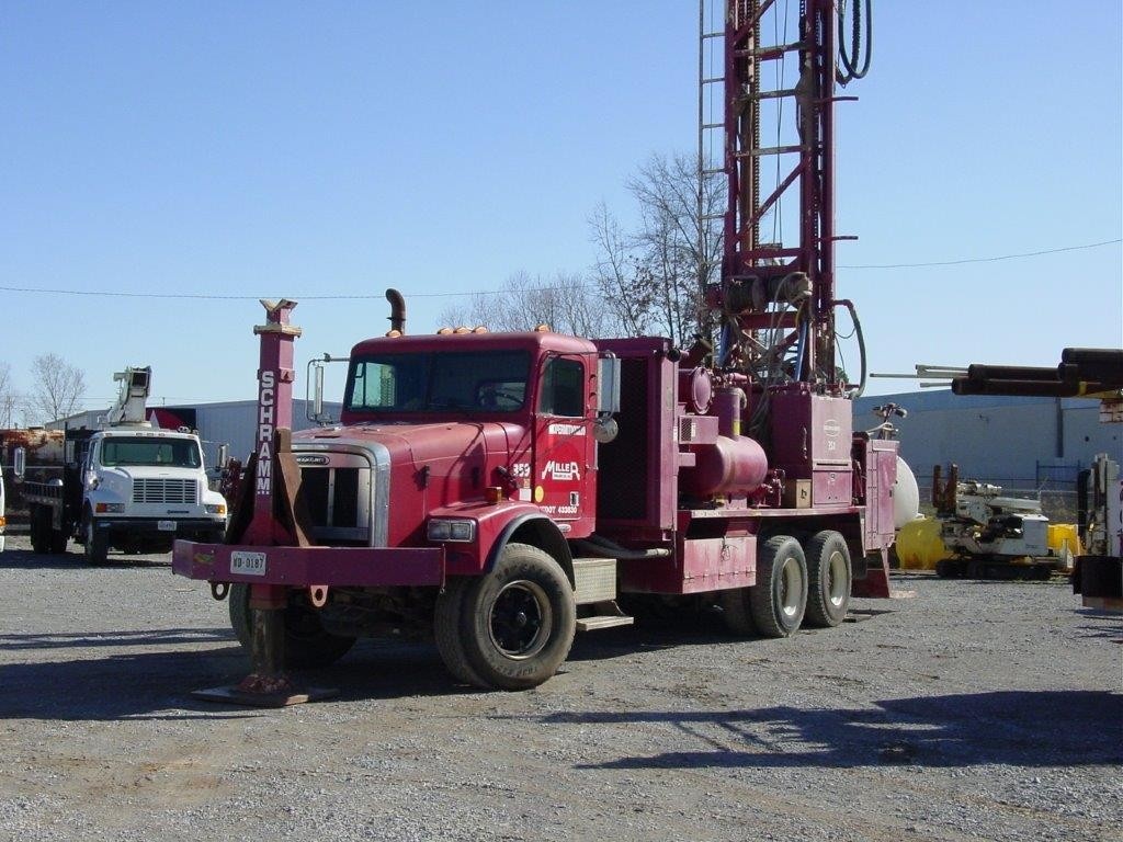 Refurbished drill rig transported from US to Central Asia 2009