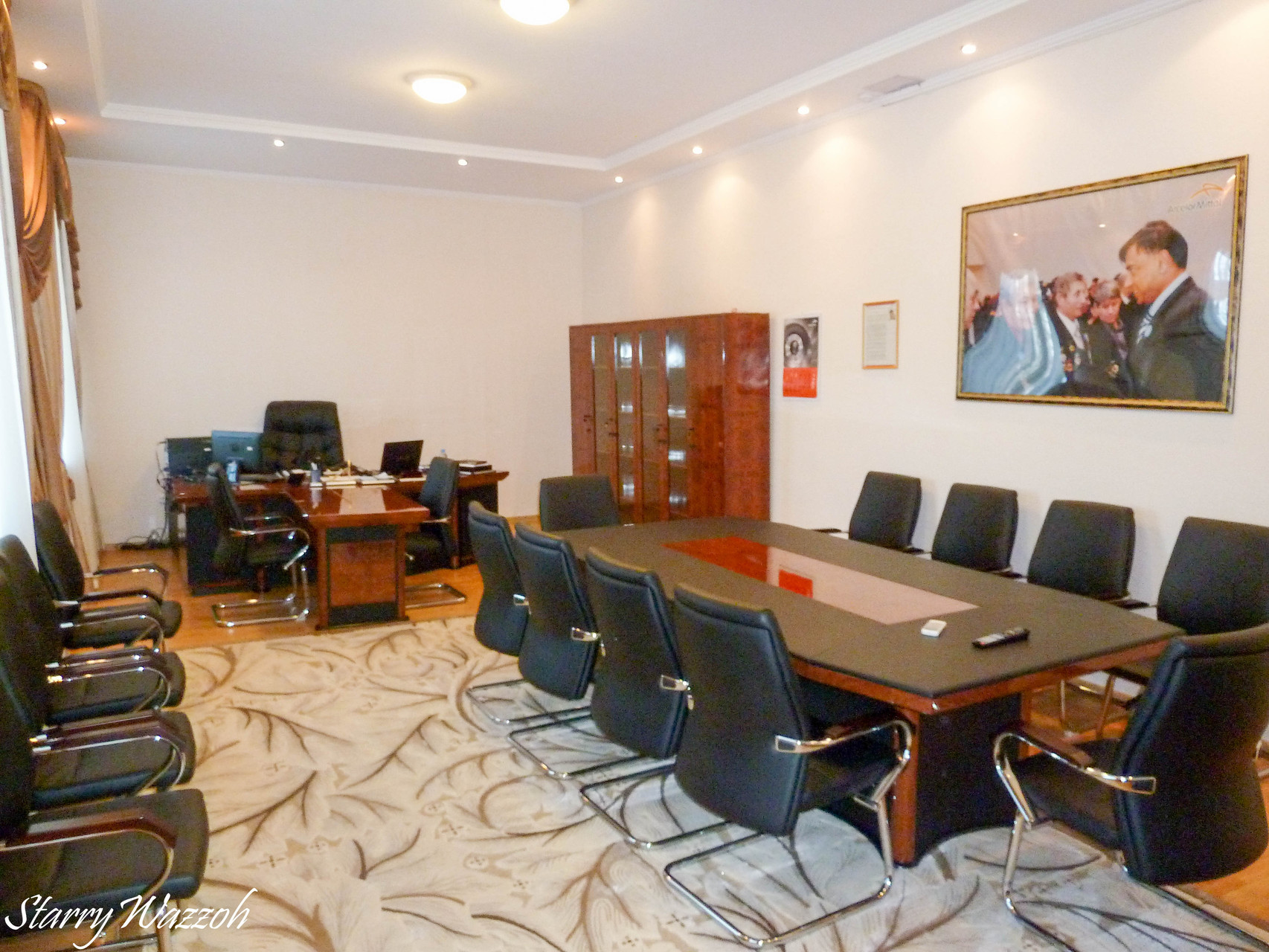 Chris's Office, Karaganda 2013