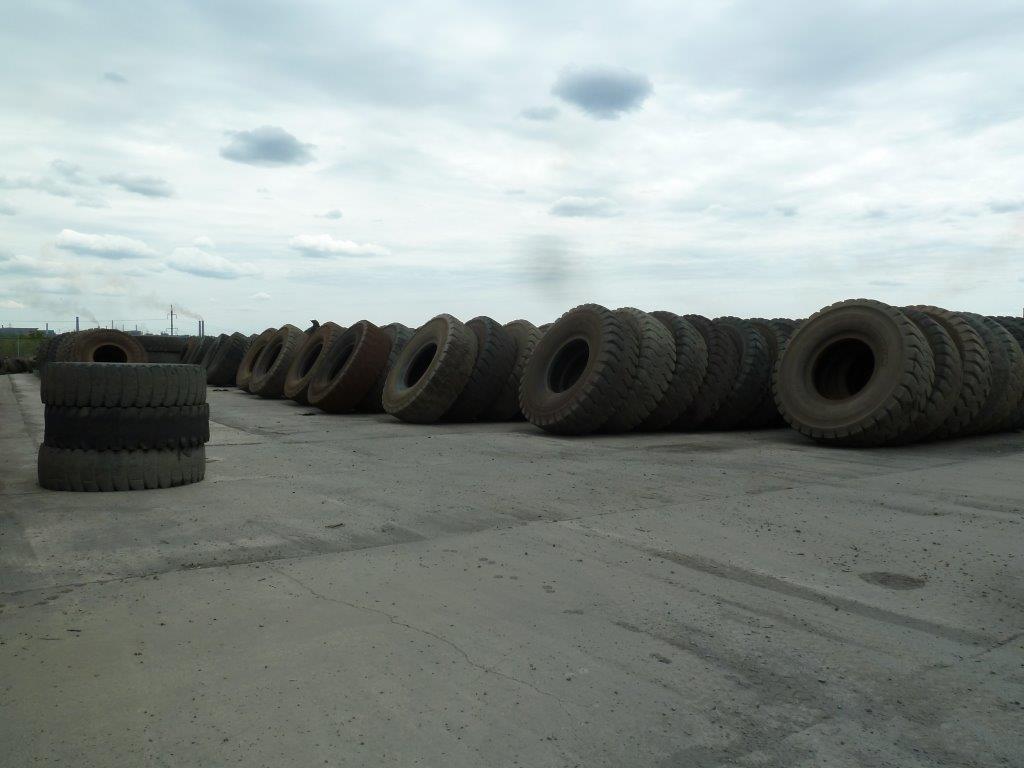 Tyre Graveyard, Ukraine 2013