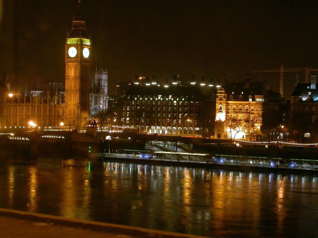 London night view England 2005