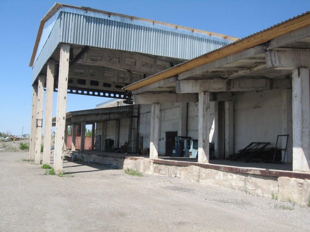 Soviet-style warehouse Kazakhstan 2012
