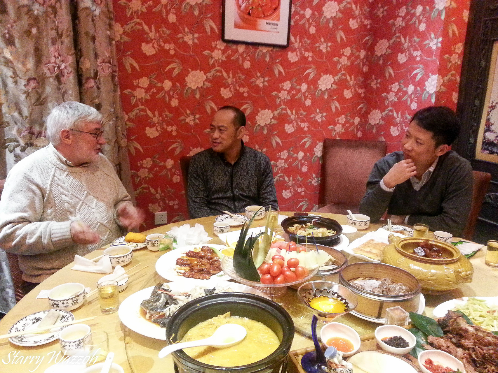 Dinner Meeting in Shenyang, China 2014