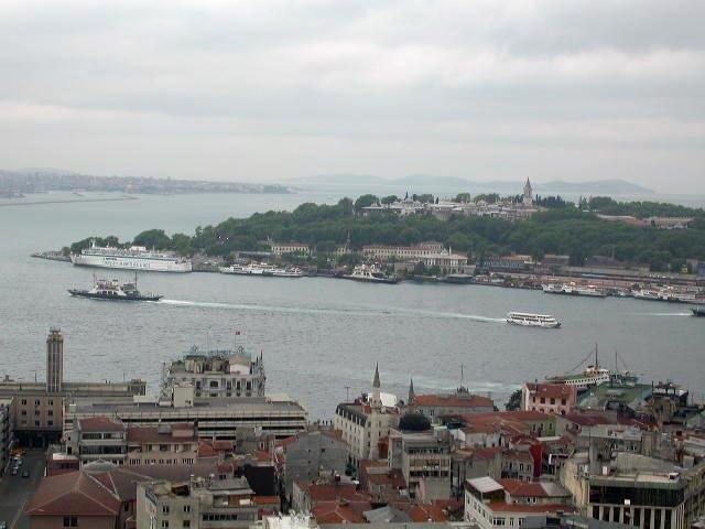 Istanbul City View, Turkey 2004