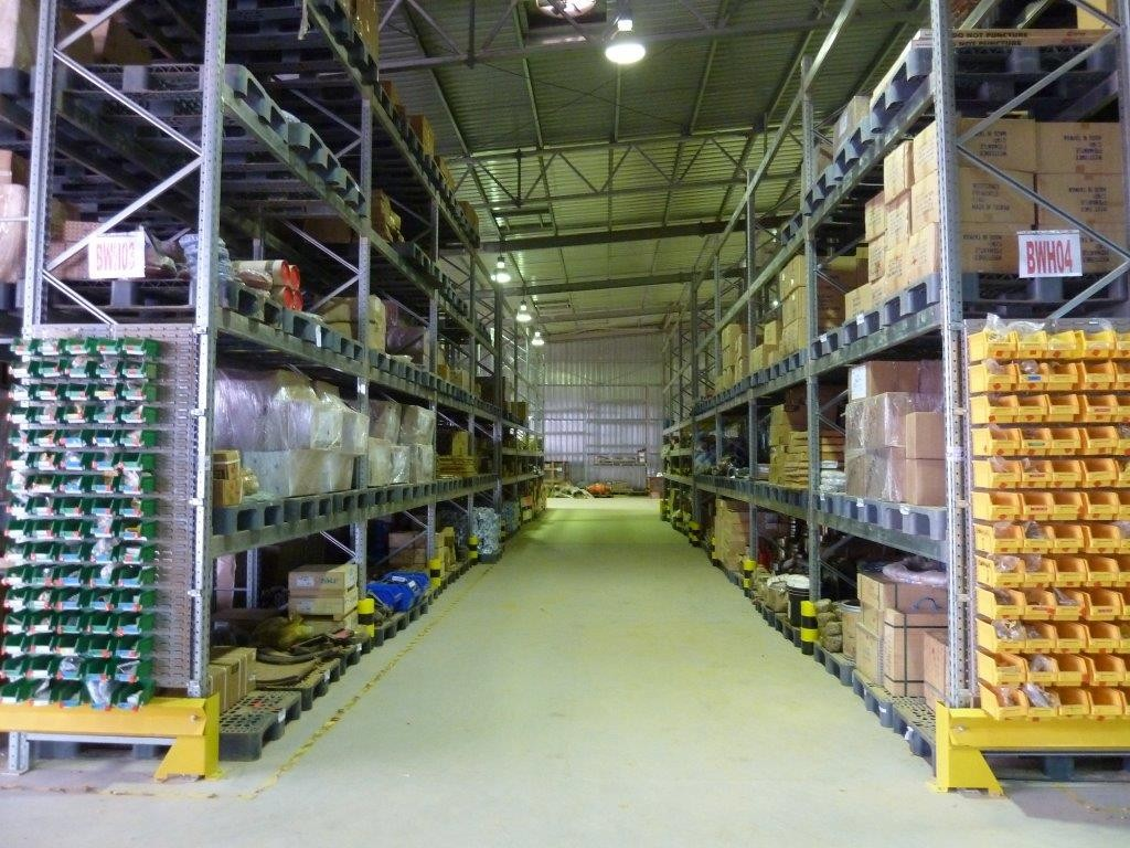 Warehouse extension and restructuring, West Africa 2012