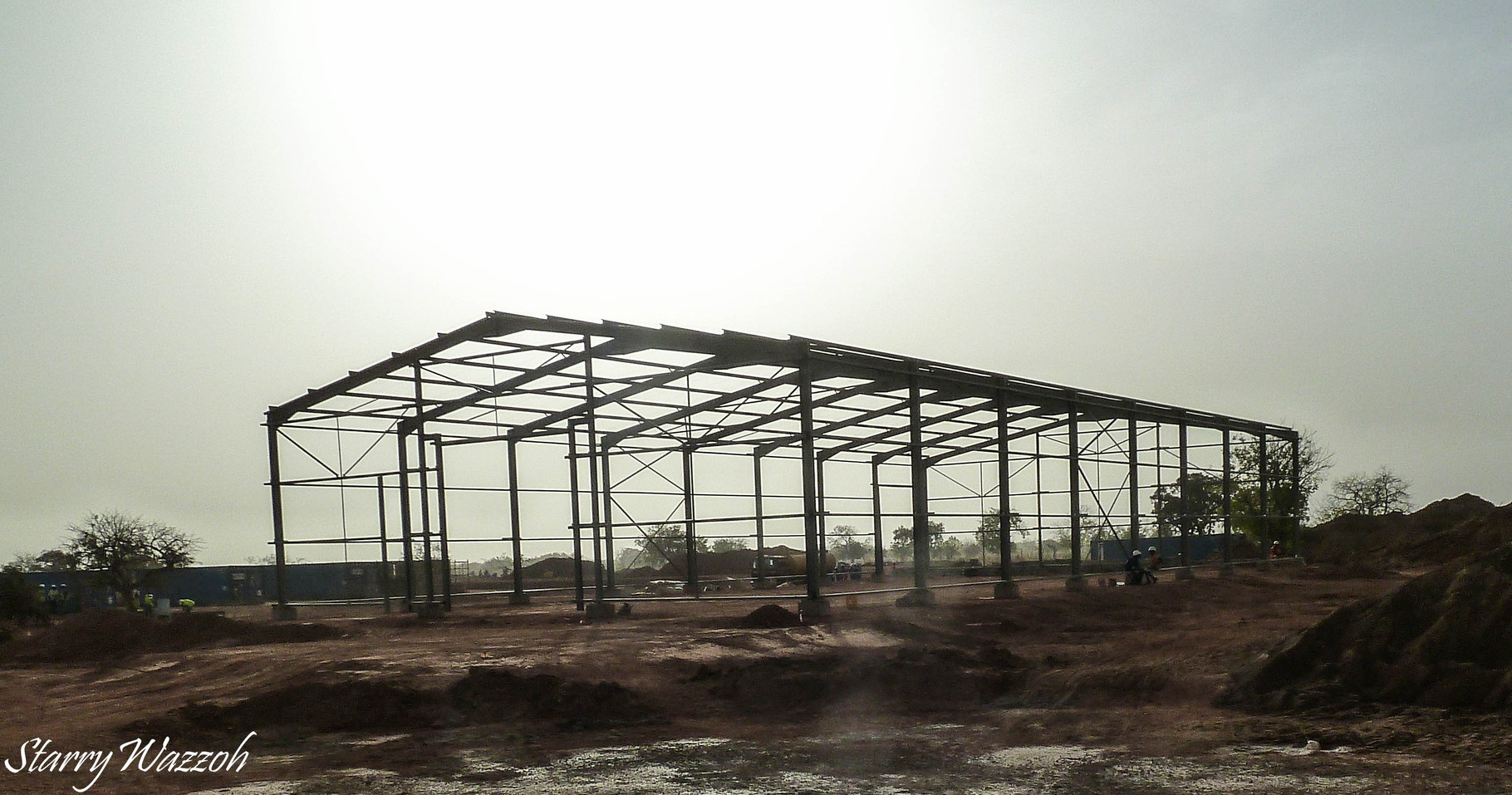 Constructing the Warehouse, Burkina Faso 2015
