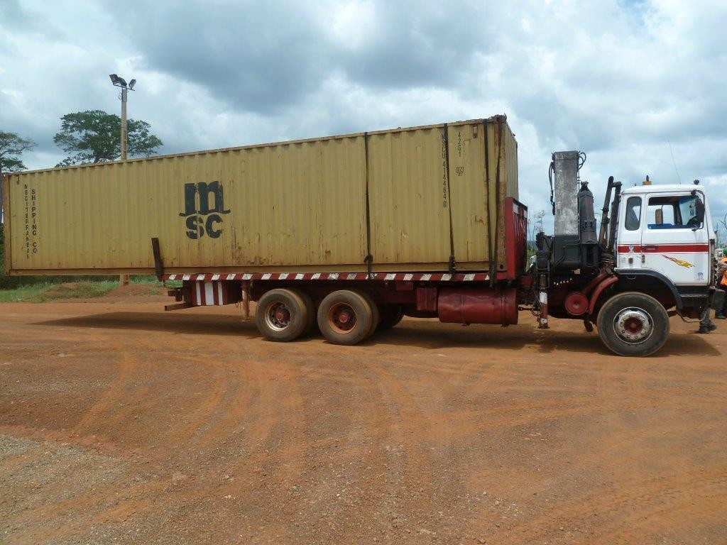 How not to load a truck in West Africa 2012