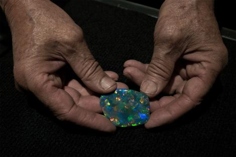 Opal mining in the Australian outback