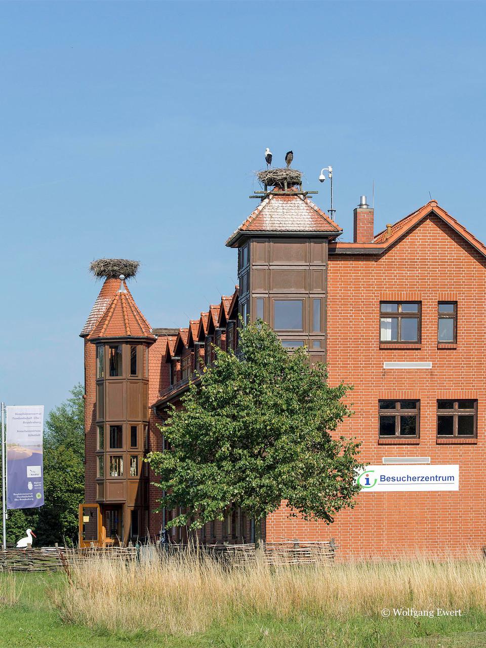 NABU- Besucherzentrum            --                      Foto: W. Ewert