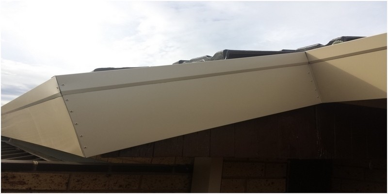 Fascia cover COLORBOND® Classic Cream™