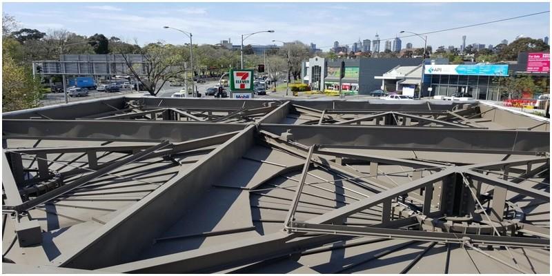 Painting canopy roof DULUX® Jasper®