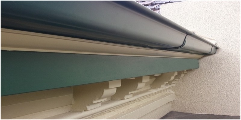 Quad gutter COLORBOND® Cottage Green®