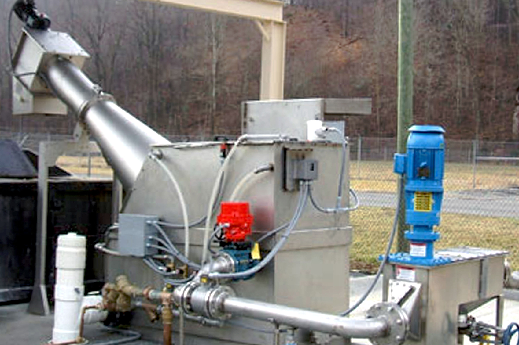 Septage Receiving Stations R E M International Mechanics