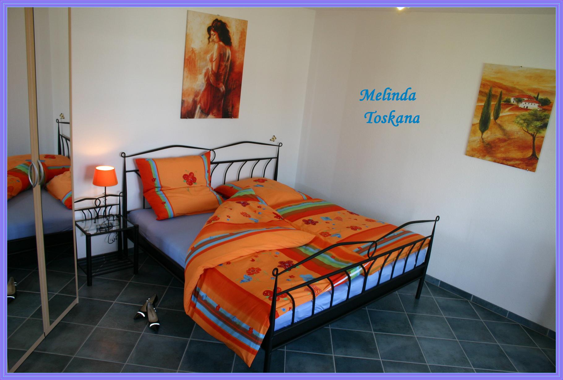 Unsere Traum Ferienwohnung Melinda Toskana in Freiburg - ideal für Geschäftsreisende