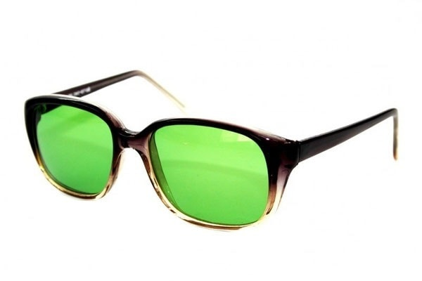 Очки глаукомные пластик Стекло. Диоптрия: 0,0