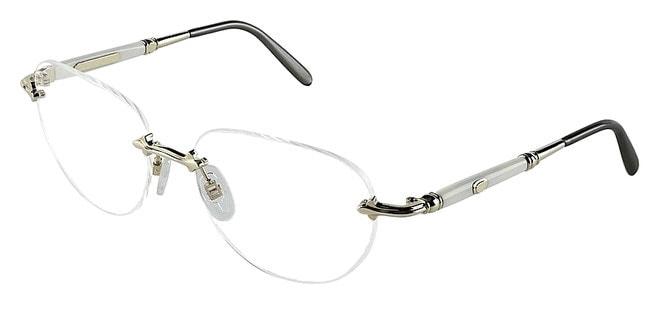 Оправа для очков из чистого серебра