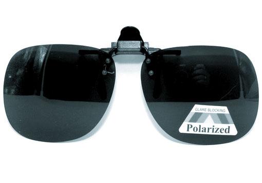 очки клипсы Polaroid от солнца