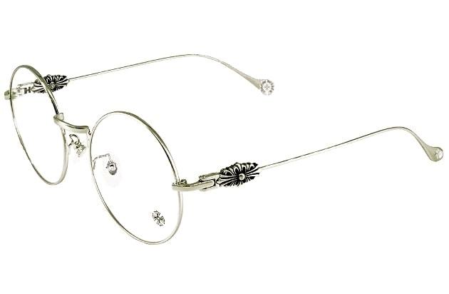Оправа для очков цвета  серебра Chrome Hearts