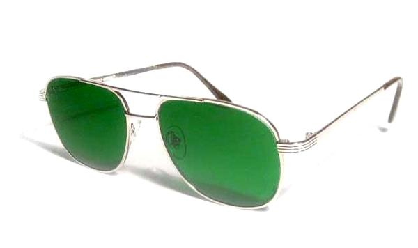 Очки глаукомные минеральная линза