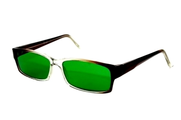 Очки глаукомные Стекло. Диоптрия: 0,0