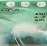 Полимерная линза «Crystal» с покрытием. Индекс 1,56.