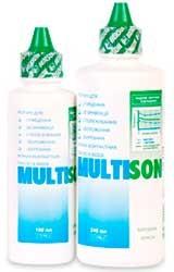 Multison   Раствор для всех типов мягких контактных линз.