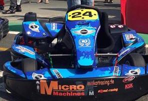 Kart-Dekor Folien MicroMachines für das 24h in Dubai