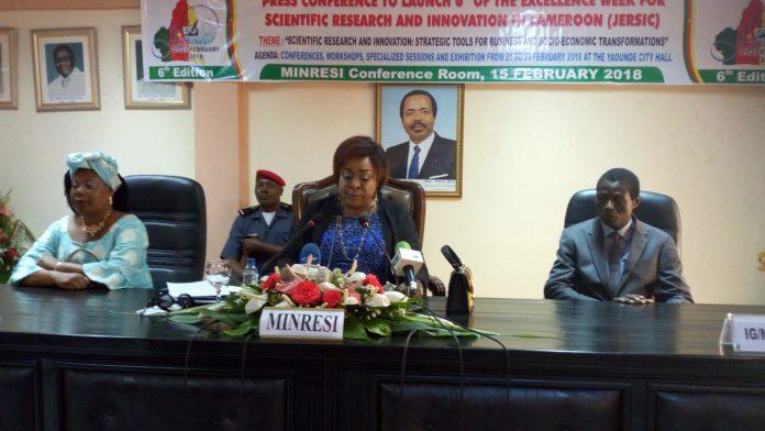 Mme Madeleine TCHUINTE, Ministre de la Recherche scientifique et de l'Innovation