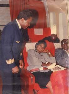 Jean Louis Angounou, premier commandant de bord camerounais